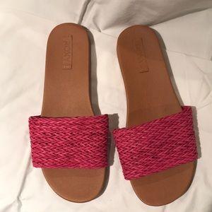 Roxy Pink Slides